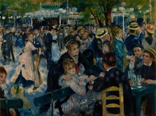 Dance at Le Moulin de la Galette