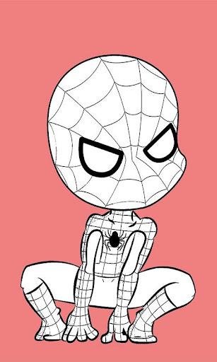 Paint Spiderman