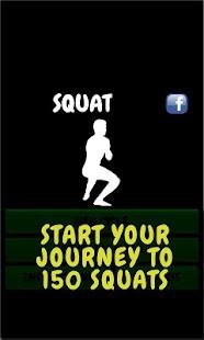 Squat - workout routine - screenshot thumbnail