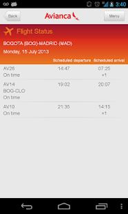 Avianca- screenshot thumbnail