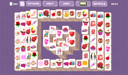 Valentine's Mahjong Tiles APK screenshot thumbnail 2