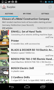 Surplex Auctions- screenshot thumbnail