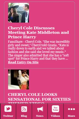 Cheryl Cole EXPOSED! - screenshot