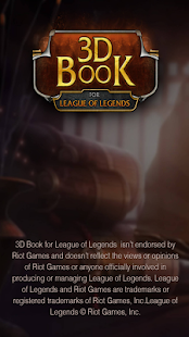 3D book for League of Legends- screenshot thumbnail