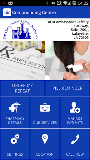Compounding Center Pharmacy