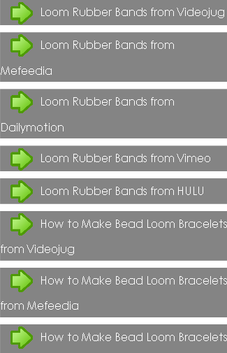 Loom Rubber Bands Tips