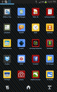 Chrome Next Launcher HD Theme - screenshot thumbnail