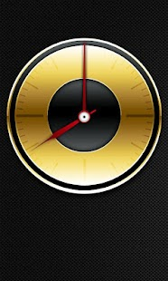 Gold Analog Clock - screenshot thumbnail