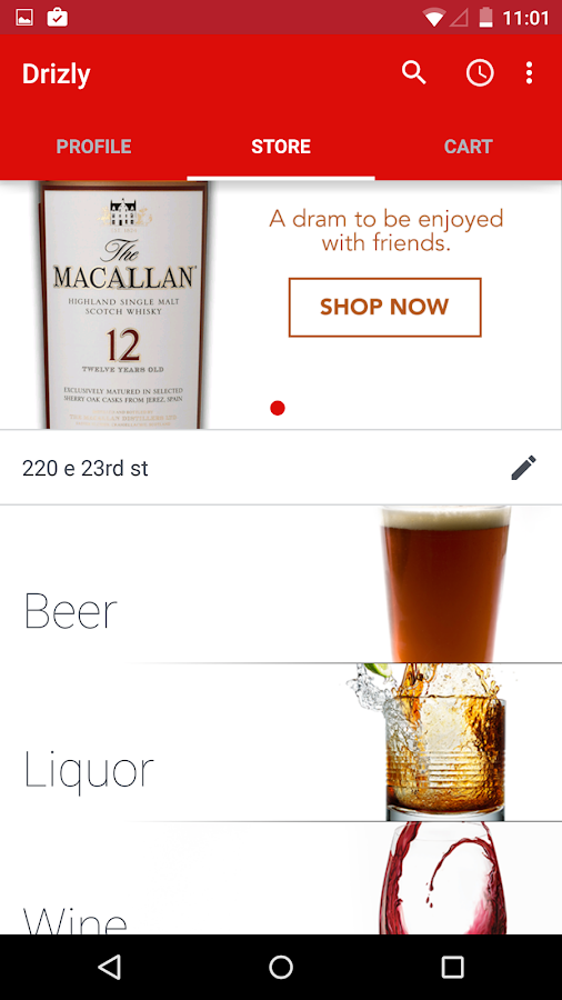 Drizly - Alcohol Delivery - screenshot