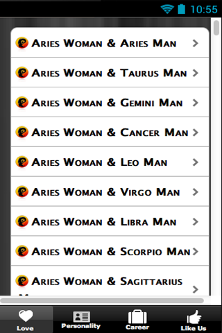 Love Horoscopes Match