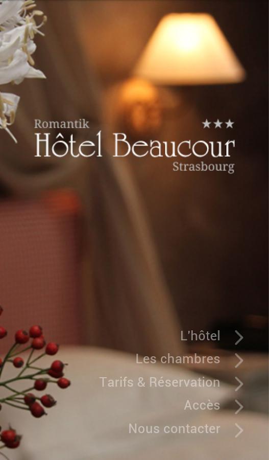 Hôtel Beaucour - Strasbourg - screenshot