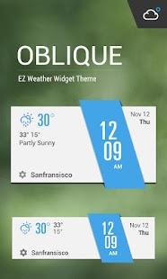 Minimal Clock Weather Widget