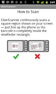 UberScanner- screenshot thumbnail