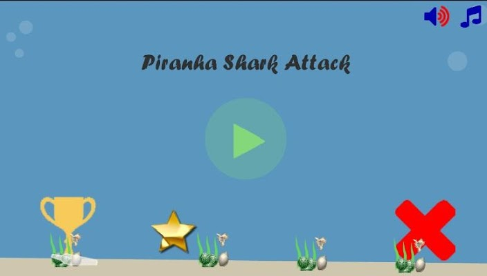 Piranha Shark Attack - screenshot