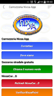 Carrozzeria Nixsa App- screenshot thumbnail