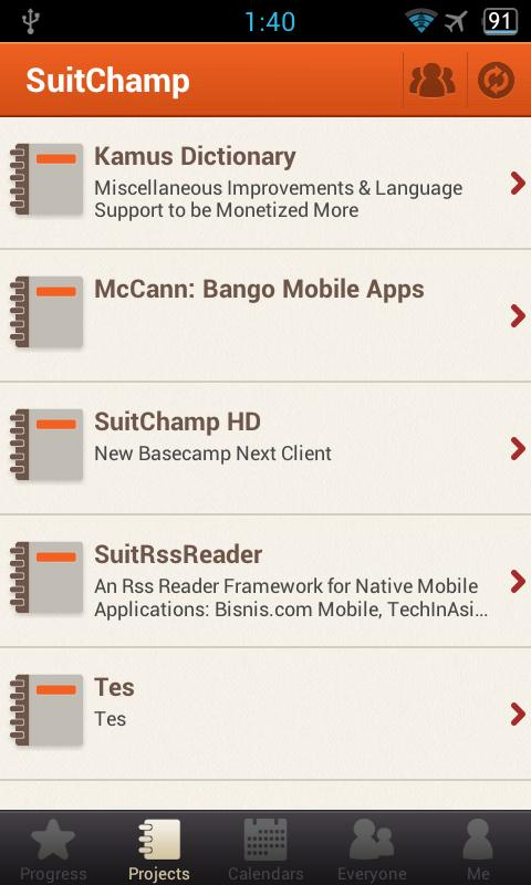 SuitChamp - New Basecamp Next - screenshot