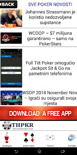 Poker novosti