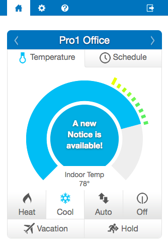 My Thermostat- screenshot