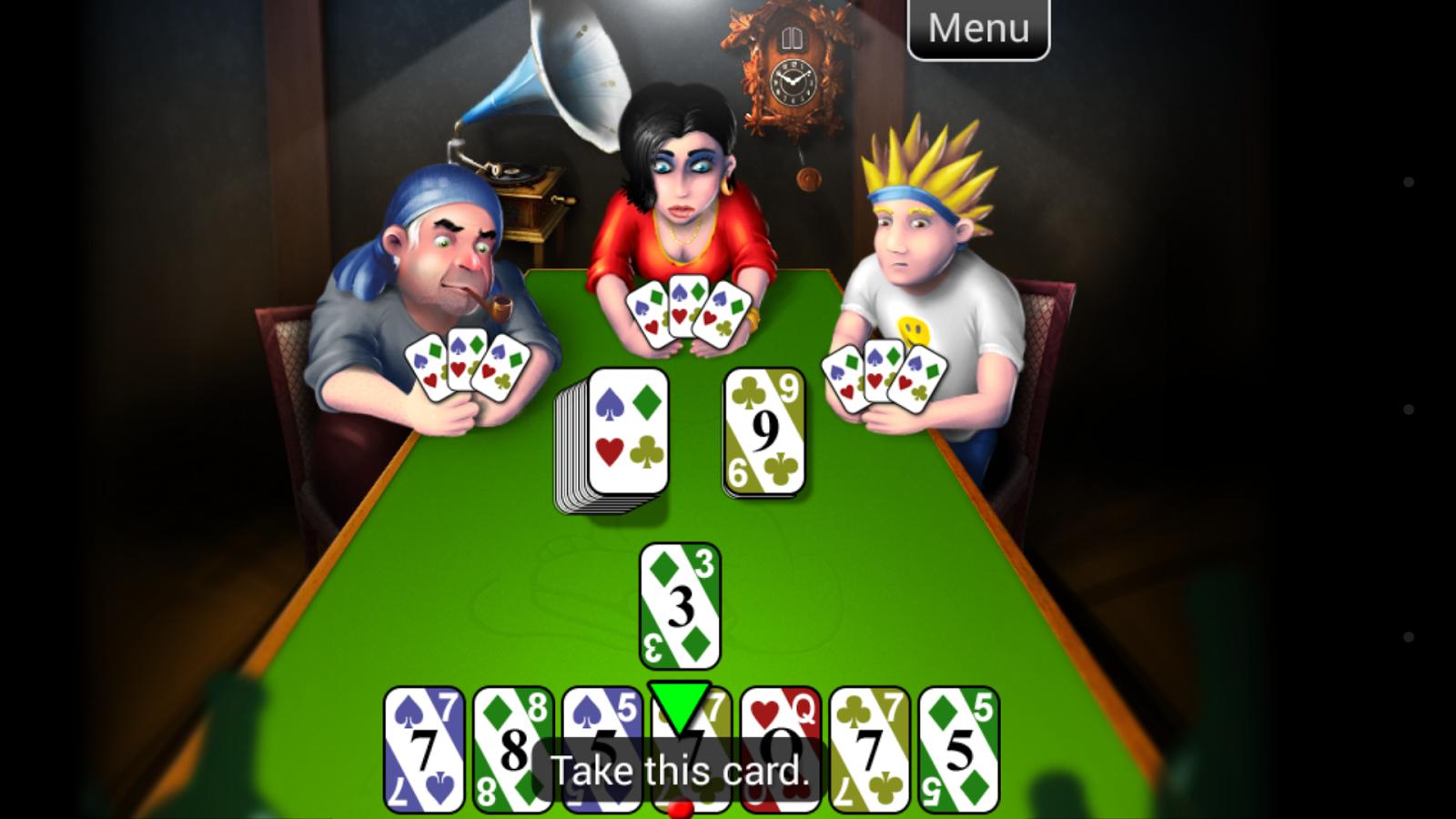 Mau Mau - screenshot