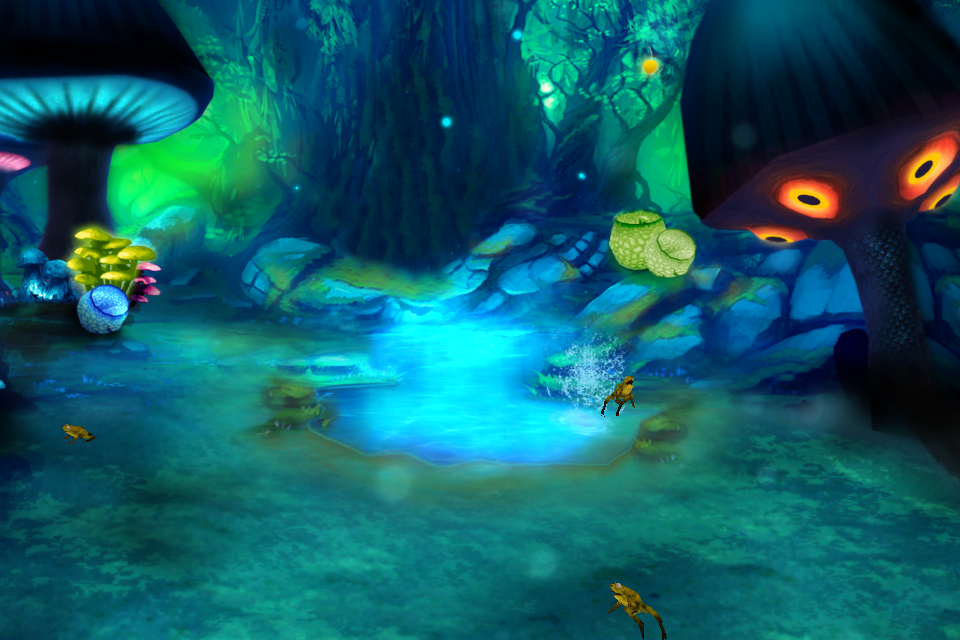 Giant Mushroom Forest LWP - screenshot