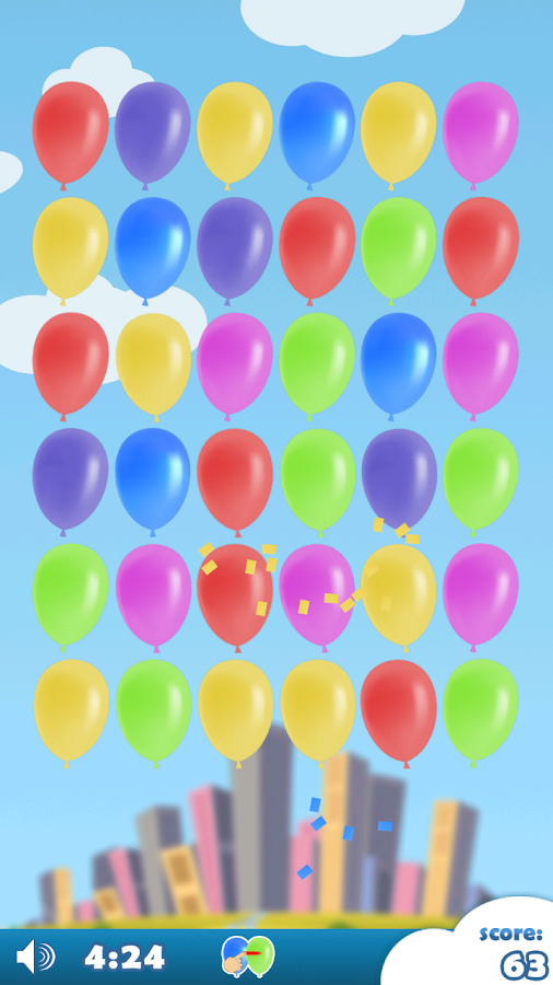 Boom Balloons (Jewels) - screenshot