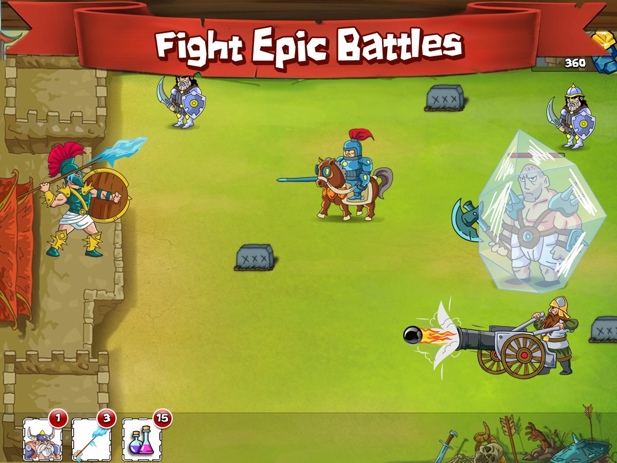 Spartan Wars: Clash of Clans - screenshot