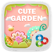 Cute garden GO Launcher Theme