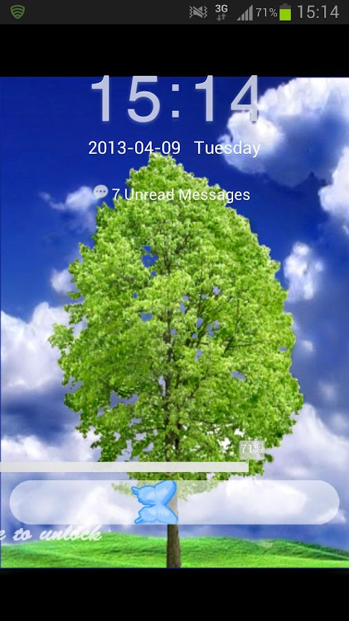 GO Locker Theme Tree - screenshot
