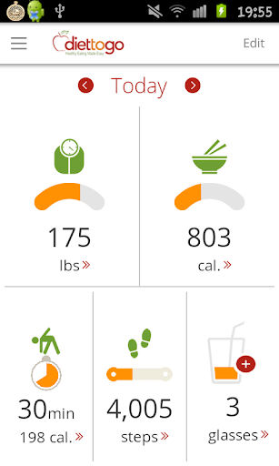 Diet-to-Go: Weight Loss Tools