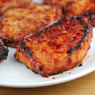 Honey Garlic Pork Chops.