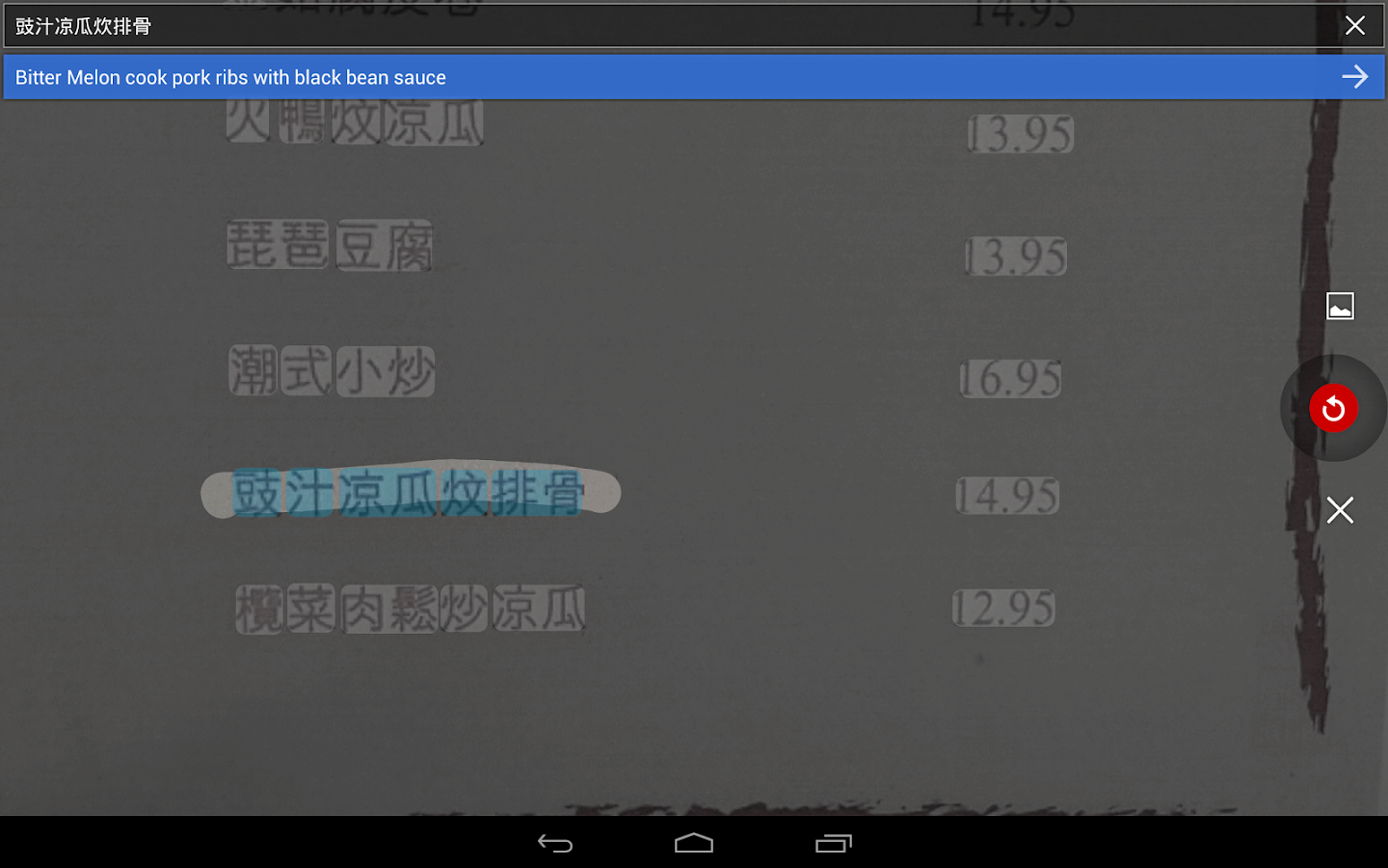 Google 翻訳 - screenshot