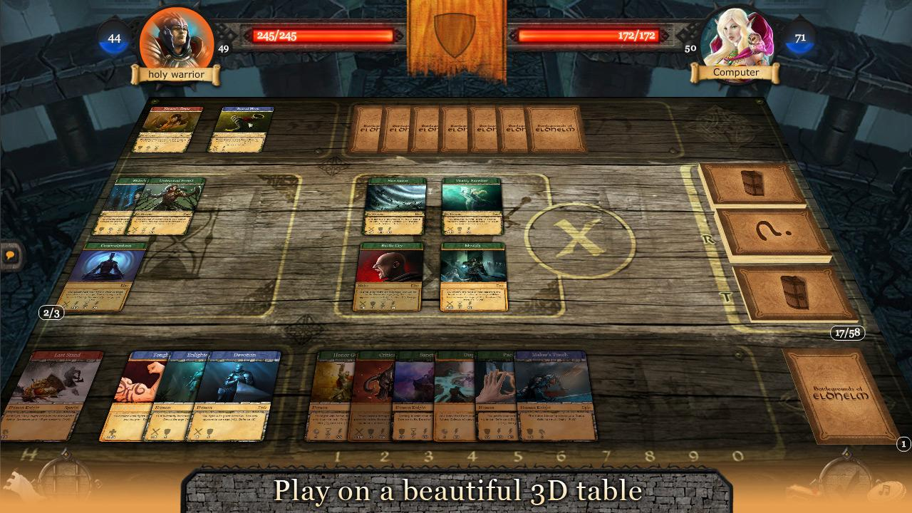 Eldhelm - Free Online CCG/RPG - screenshot