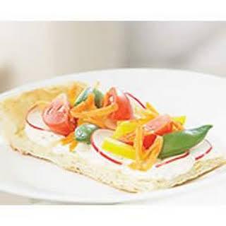 PHILLY Spring Veggie Pizza.