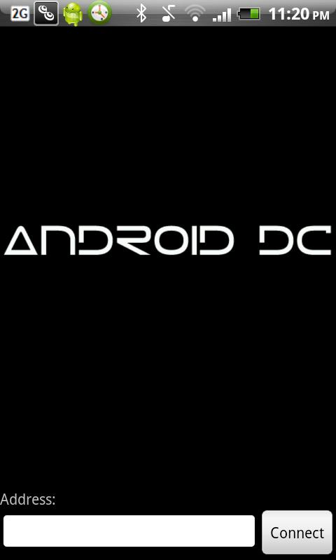 Android DC - screenshot