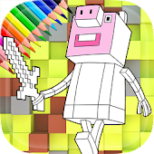 Peppa Craft Coloring