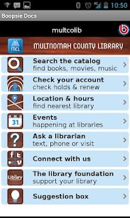 Multnomah County Library - screenshot thumbnail