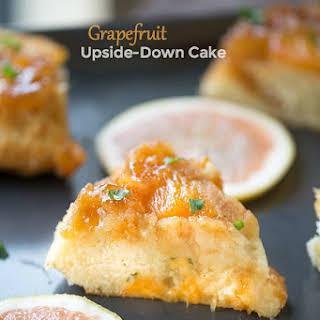Grapefruit Upside Down Cake.