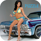 Hot Girls & Cars - Puzzle Game