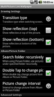 MultiPicture Live Wallpaper dn - screenshot thumbnail