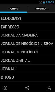 Jornais e revistas - Portugal screenshot 4