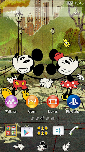 XPERIA™ Disney Mickey NY Theme