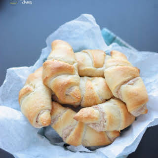 Maple Cinnamon Cream Crescent Rolls.