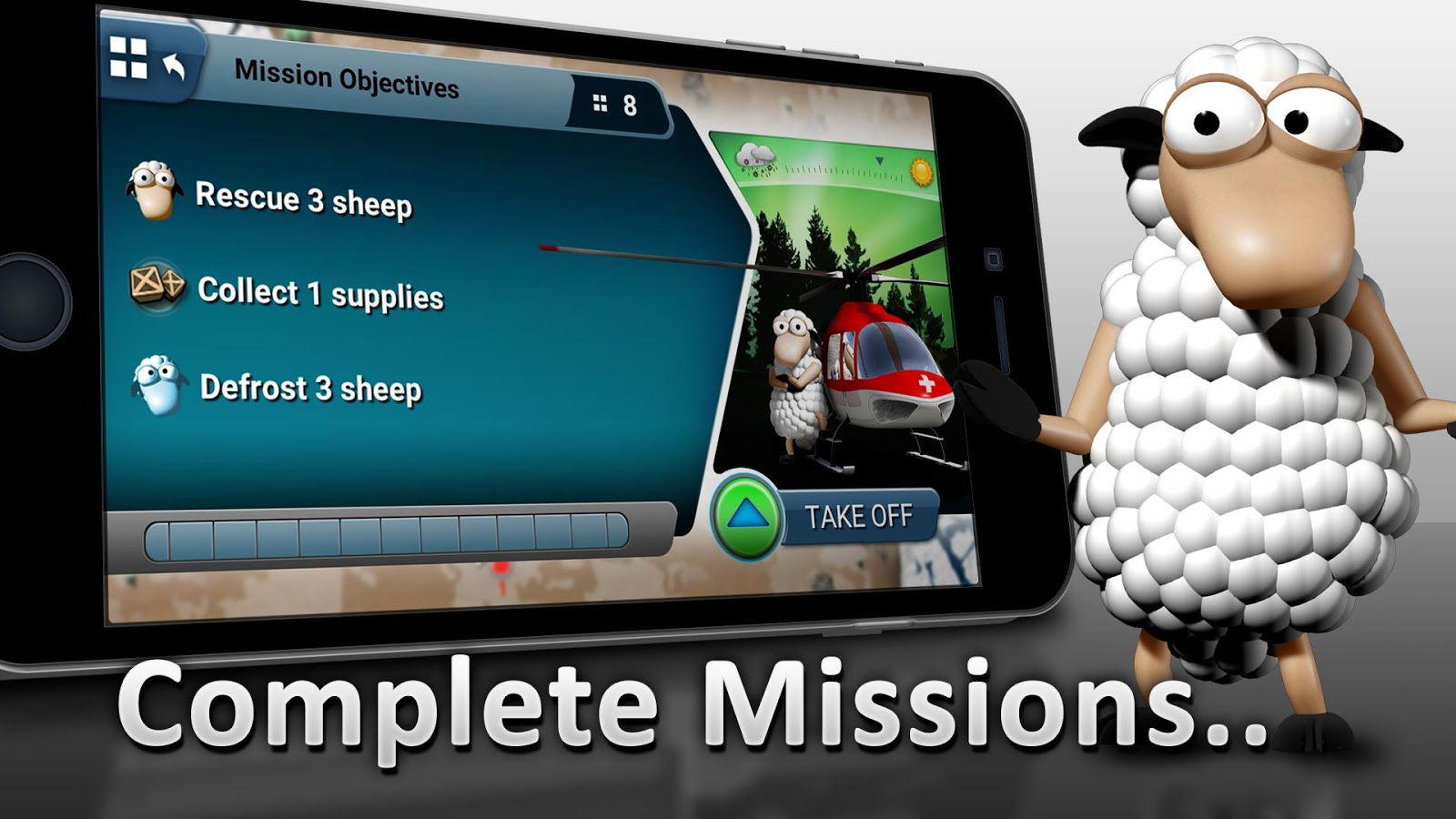 Sheep 2 Go – Lambs in Peril- screenshot