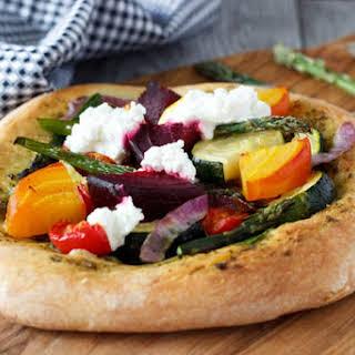 Rustic Veggie Pizza.