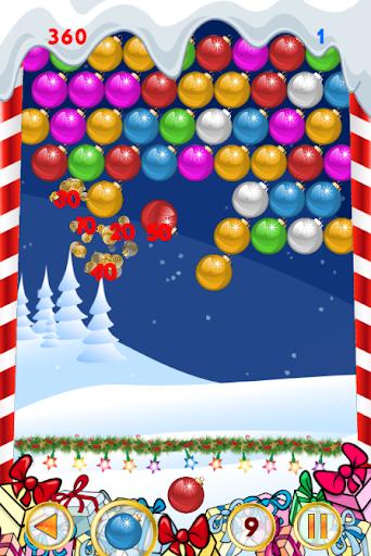 圣诞节游戏:泡泡射击