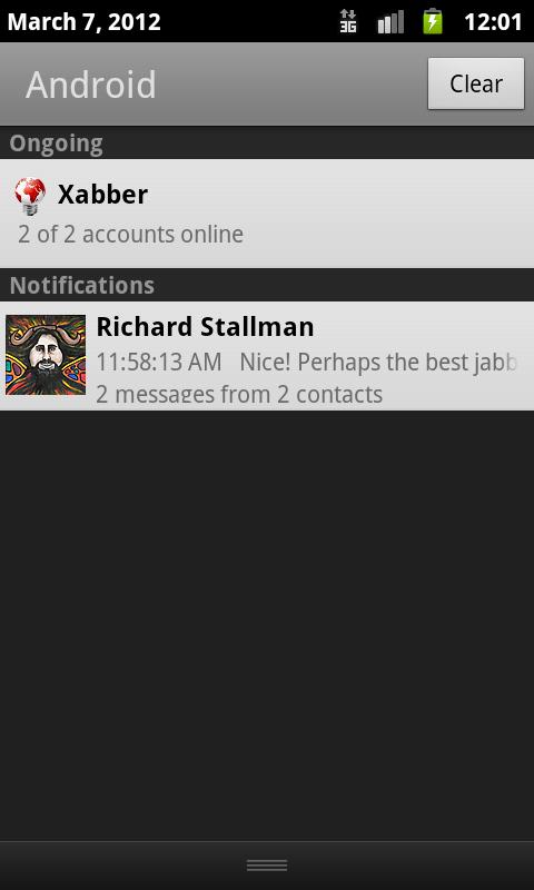 Xabber VIP - screenshot