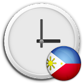 Philippines Clock & RSS Widget