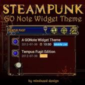 Steampunk Tempus Fugit GO Note