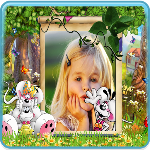 Lovely Kids Photo Frames HD