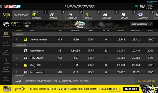 NASCAR MOBILE Screenshot 22